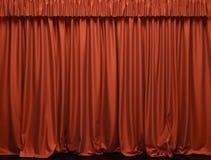 Het gordijn van het theater. royalty-vrije stock foto's