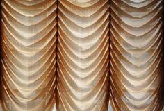 Het gordijn van het venster Stock Fotografie
