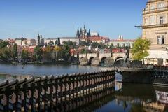 Het gotische Kasteel van Praag royalty-vrije stock afbeelding