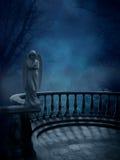Het gotische Letten op van Engelen stock illustratie
