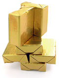 Het goud de toren Royalty-vrije Stock Foto's