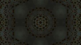 Het goud die abstracte achtergrond roteren verandert van vorm vector illustratie