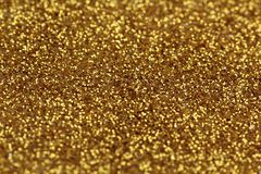 Het goud schittert abstracte achtergrond Royalty-vrije Stock Foto