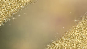 Het goud schittert abstracte achtergrond Stock Foto's