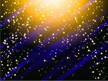 Het goud schittert confettien voor certificaat, bon, heden, korting, uitnodiging, exclusief vip, luxe, giftkaart Gouden Samenvatt Royalty-vrije Stock Afbeeldingen