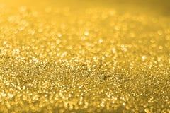 Het goud schittert textuur Royalty-vrije Stock Afbeelding