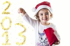 het goud van 2013 Stock Foto's
