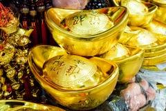 Het Goud van China Royalty-vrije Stock Afbeelding