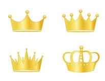 Het goud van de kroon Royalty-vrije Stock Afbeelding