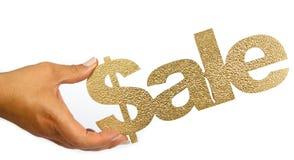 Het goud van de verkoop Royalty-vrije Stock Fotografie