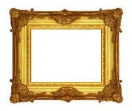 Het goud van het frame royalty-vrije stock fotografie