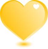 Het goud van het hart Stock Fotografie