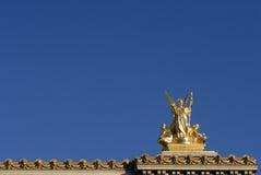 Het Goud van Parijs Royalty-vrije Stock Afbeelding