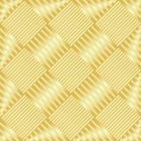 Het goud wattled structuur stock illustratie