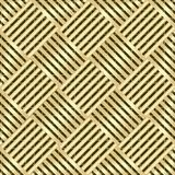 Het goud wattled structuur vector illustratie