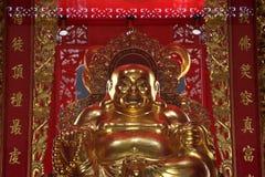 Het gouden beeld van Boedha Royalty-vrije Stock Afbeeldingen