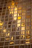 Het gouden betegelen Stock Afbeelding