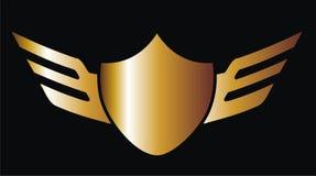 Het gouden bewapenen Stock Afbeeldingen