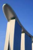 Het gouden Casino van het Zand, Singapore Stock Foto