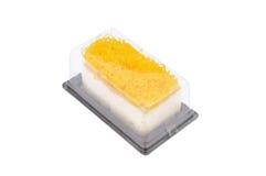 Het gouden dessert van de eierdooiersdraad Royalty-vrije Stock Fotografie