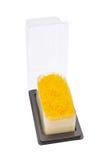 Het gouden dessert van de eierdooiersdraad Stock Afbeeldingen