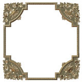 Het gouden frame van het beeld royalty-vrije stock foto