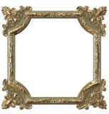 Het gouden frame van het beeld vector illustratie