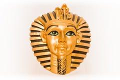 Het gouden masker Royalty-vrije Stock Foto's