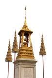 Het gouden monument Stock Fotografie