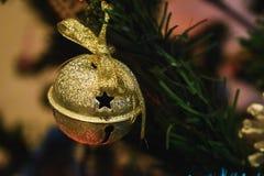 Het gouden ornament van de kenwijsjeklok stock foto's