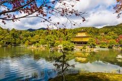 Het Gouden paviljoen Japan Stock Foto's