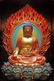 Het gouden standbeeld van Boedha Royalty-vrije Stock Foto