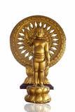 Het gouden standbeeld van Boedha van de Baby Royalty-vrije Stock Foto
