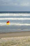 Het gouden Strand van de Kust Stock Afbeelding