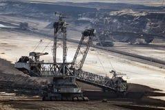 Het graafwerktuig van de steenkool Royalty-vrije Stock Afbeelding