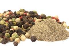 Het graan van de peper Stock Afbeelding