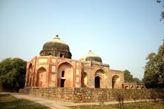 Het Graf en de Moskee van Afsarwala royalty-vrije stock afbeeldingen