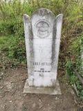 Het graf van Adolf Hittler - Oostenrijkse Jood die een hoedenmaker was royalty-vrije stock foto