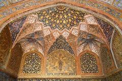 Het graf van Akbar Stock Afbeeldingen