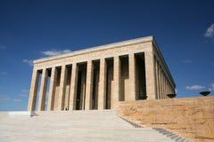 Het graf van Ataturk anitkabir Stock Foto