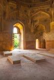 Het graf van Dadi Poti in Lodi-Tuinen in Delhi Stock Foto