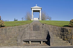 Het graf van de begraafplaats Royalty-vrije Stock Foto's
