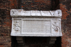 Het graf van de doge, Venetië Royalty-vrije Stock Afbeeldingen