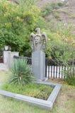 Het graf van de Georgische dichter Giorgi George Leonidze Stock Afbeelding