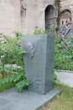Het graf van de Georgische historicus Nikoloz Berdzenishvili stock foto