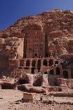 Het Graf van de urn. Petra, Jordanië Royalty-vrije Stock Foto's
