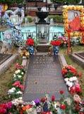 Het Graf van Elvis Presley, Graceland, Memphis TN Royalty-vrije Stock Foto's