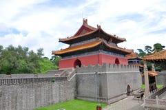 Het Graf van Fuling van Qing Dynastie, Shenyang, China stock fotografie