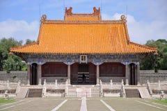 Het Graf van Fuling van Qing Dynastie, Shenyang, China stock foto's