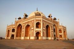 Het Graf van Humayun, Delhi, India Royalty-vrije Stock Foto's